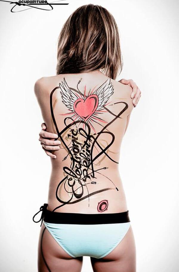 Body Painting com POSCA - 002
