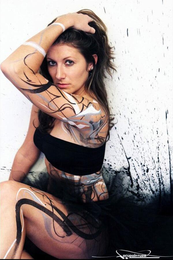 Body Painting com POSCA - 004